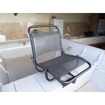 Cadeira De Barco P/pesca Giratória Telada