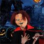Mascara Chucky Em Latex Ja Com A Peruca