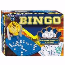 Jogo De Bingo Com Roleta E 48 Cartelas Nig Brinquedos 1000