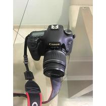 Câmera Canon 7d Mark I + Lente 18-55mm Cartão 16gb Completa