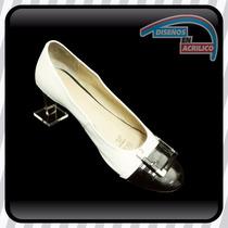 Exhibidor Para Zapatos En Acrílico Para Vitrinas Mod 2
