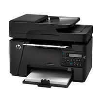 Multifuncional Hp M127fn Fax Rede Laserjet Cz181a 110-127v