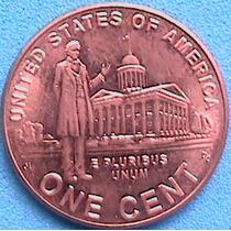 Estados Unidos 1 Cent 2009 Vida De Lincoln Capitolio Spg