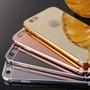 Case Bumper Aluminio Espejo Samsung S7, S7 Edge + Colores