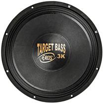 Woofer Eros 15 Pol Target Bass 3.0k - 1500w Rms / 4 Ohms