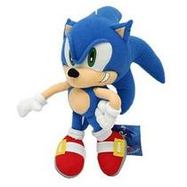Pelúcia Sonic Boneco Grande 40cm Antialérgico Games