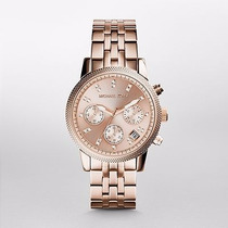 Reloj Michael Kors Rose Gold-tone Mk6077 | Watchito