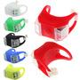 Kit 2 Sinalizadores Lanterna Led Bike Segurança Ciclovia