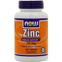 Ahora Alimentos Gluconato De Zinc 50 Mg Comprimidos Nueva Me