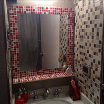 Espejo Venecitas Con Estante 50x70