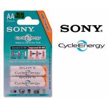 Pilas Recargables Sony Cycle Energy Aa-aaa 4600mah Blister