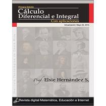 Libro: Cálculo Diferencial E Integral, Con Aplicaciones- Pdf