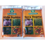 Adubo + Terra Vegetal Organica Plantas Hortaliças Flores 2kg