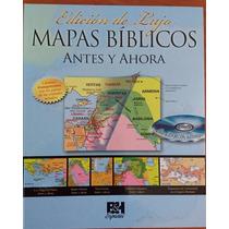 Libro De Mapas Bíblicos De Antes Y Ahora