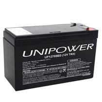 Bateria Selada Unipower 12v 7a P/ Alarmes Cerca Elétrica