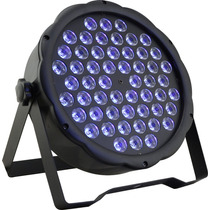 Refletor Negra Bivolt Refletor Par 64 54 Leds 1w Uv Neon Dmx