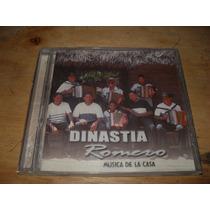 Dinastia Romero Cd Musica De La Casa Musica Vallenato
