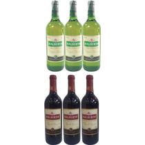 Kit De Vinho Halberth Bordô E Niágara Suave 750ml 3 Uni Cada