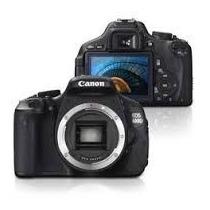 Camera Canon Eos Rebel T3i Somente O Corpo