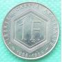 Moneda Francia Homenaje General Degaulle 1 Franco 1988