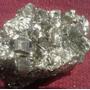 Mineral Roca Cristal Pirita Sulfuro De Hierro 5 X 3.5 Cm