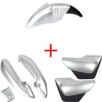 Kit Carenagem Mod Original Suzuki Yes 125 05/2012 Cor Prata