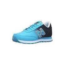 Zapatillas New Balance 501 Classic Mujer Azul Celeste