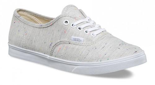 Vans Authentic Lo Pro Speckle Gris Dama Look Trendy -   980.00 en Mercado  Libre aa5eb0d912a