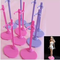 Paquete De 5 Bases Para Muñecas Barbie, Princesas, Etc.