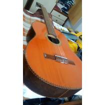 Guitarra Criolla De Luthier Ramón Baez. Pala Tallada