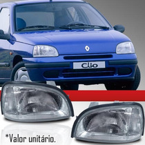 Farol Renault Clio 95 96 97 98 99 Direito