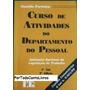 Curso De Atividades Do Departamento Do Pessoal Volume 1- ...