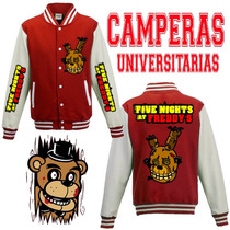 Five Nights At Freddy Camperas Universitarias