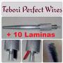 Caneta Tebori Perfect Wires Microblading + 10 Laminas