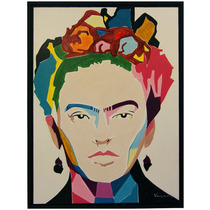 Cuadro Frida Kahlo Estilo Pop Art Moderno Remate