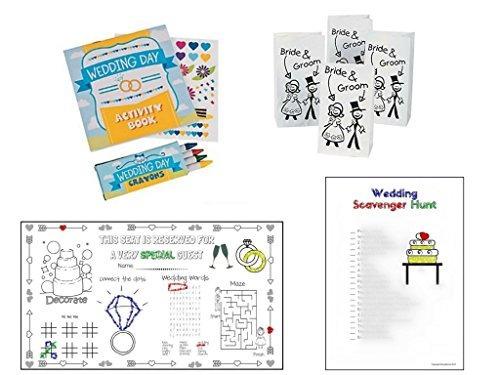 Kits De Actividades Para La Boda Para Niños: Bolsas Para ...