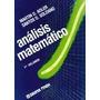 Analisis Matematico Vol.1 Adler Ed.macchi 1986 Matematica