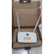 Modem Roteador Wifi Adsl 300mb 2x5dbi Oi Gvt Speedy Ctbc