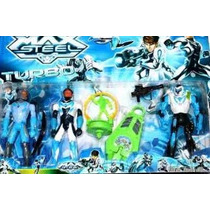 Boneco Max Steel Turbo Kit Completo Pronta Entrega Promoção