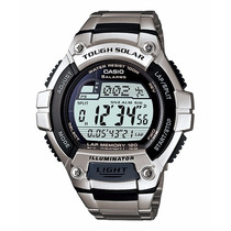 Relogio Casio W-s220d-1a Aço Tough Solar Original Nfe