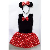 Fantasia Infantil Da Minnie - Miney - Carnaval - Festas