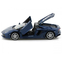Lamborghini Aventador Lp 700-4 Roadster 1:24 Maisto Azul