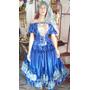 Roupa Cigana Azul