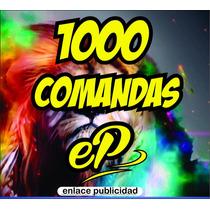 1000 Comandas 1/4 De Carta Autocopiante Folaidas A Color