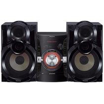 Equipo De Sonido Minicomponente Panasonic Sc-akx34 500w Usb