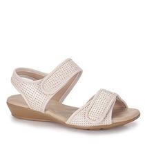 Sandália Papete Conforto Feminina Modare - Marfim