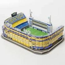Estadio 3d La Bombonera Rompecabezas 3d Puzzle Estadios