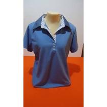Camisetast-shirt Blusa Gola Polo Feminina Kit Com 6 Peças