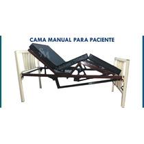 Cama Mecanica Con Colchon 2 Manijas Con 5 Posiciones