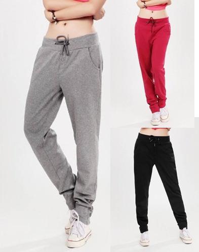 Calça De Moletom Feminina Skinny Slim - Frete Grátis - R  79,00 em Mercado  Livre c3bfd91559